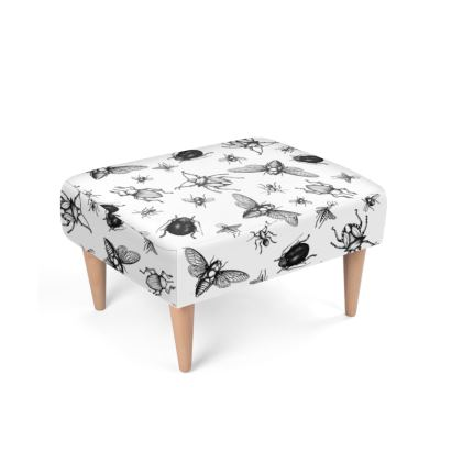"""Footstool - Limited Edition """"Buzzing Around"""" Print"""