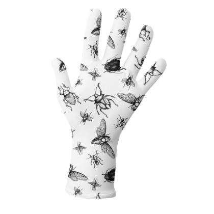 """Reusable 2pk Gloves - Limited Edition """"Buzzing Around"""" Print"""