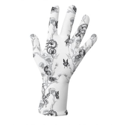 """Reusable 2pk Gloves - Limited Edition """"Unexpected Florals"""" Print"""