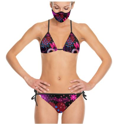 Trikini   Boysenberry & Magenta   Exquisite design that capture elegance and sophistication