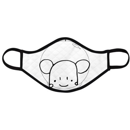 for kids cute animals minimal face masks pack of 4