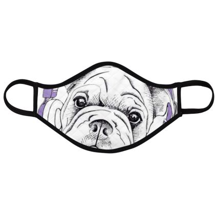 dog lovers face masks pack of 4