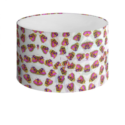 DELLA SPENCER BUTTERFLY - Drum Lamp Shade