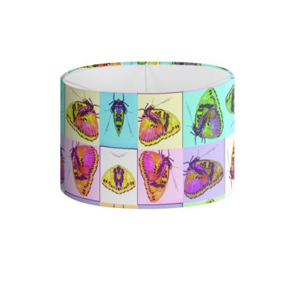DELLA SPENCER BUTTERFLY BOXES Drum Lamp Shade