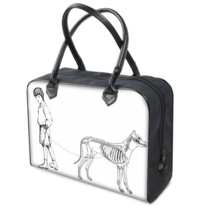 "Weekend Travel Bag - Limited Edition ""Walking Ma Dog"" Print"