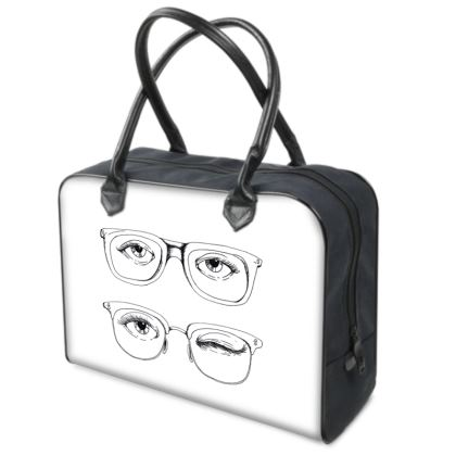 """Weekend Travel Bag - Limited Edition """"Hello There"""" Print"""