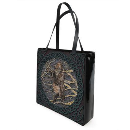Celtic Bear Shopper Bag