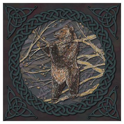 Celtic Bear Cushion