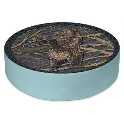 Celtic Bear Floor Cushion