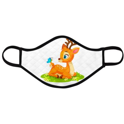 kids face masks with cute animals,pack of 4