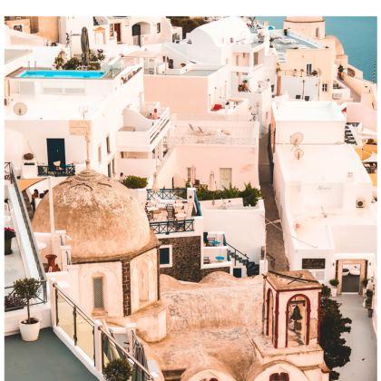 santorini face masks pack of 4