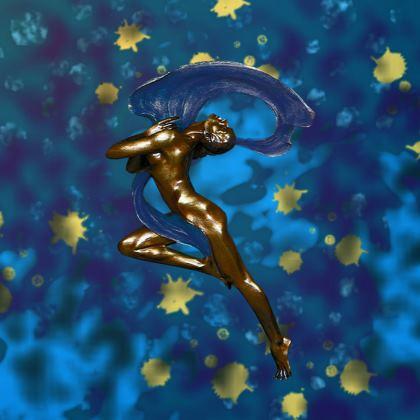 Nouveau Dreams Serving Platter