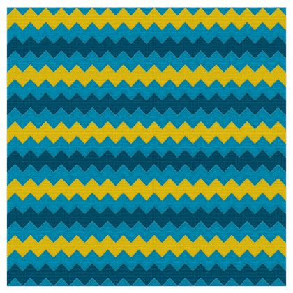 Nautical Chevron Fabric Printing