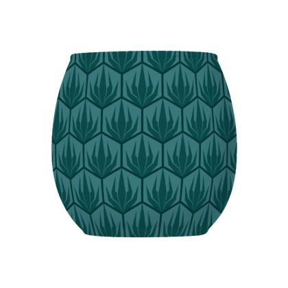 Palm Deco Pattern Tealight Holder