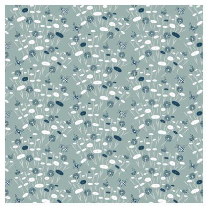 Blue Meadow Luxury Cushion