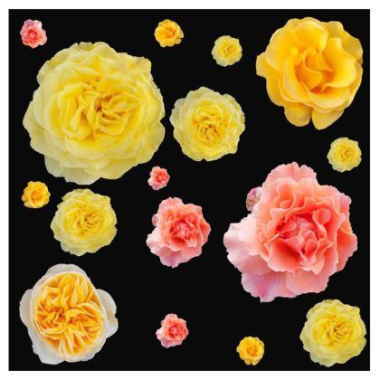 OSHO T-Shirt Dress - Roses Print