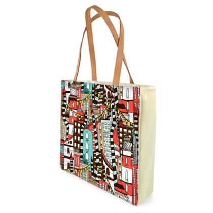 Shopper Bags - The City Of Towers