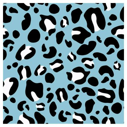 "Small Teacup & Saucer - Limited Edition ""Leopard Print Love"" Print"
