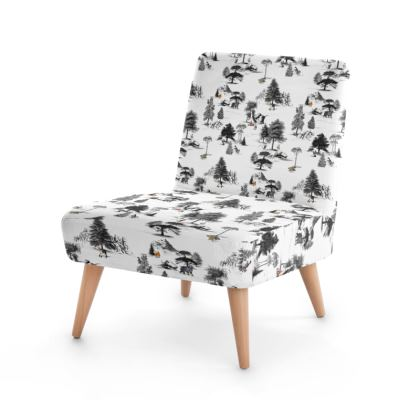 """Occasion Chair - Limited Edition """"They Walk Amongst Us"""" Print"""
