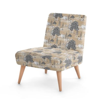 """Occasion Chair - Limited Edition """"They Hide Amongst Us"""" Print"""