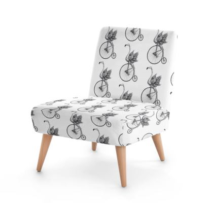 """Occasion Chair - Limited Edition """"Just Riding Along"""" Print"""