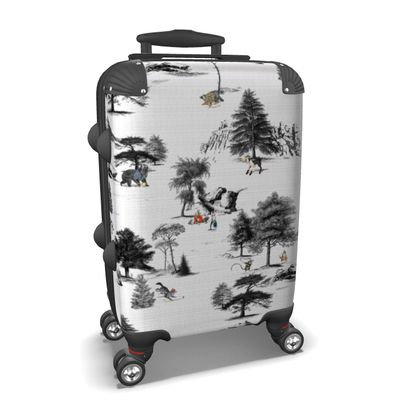 """Custom Made Hard Case Suitcase – Limited Edition """"They Walk Amongst Us"""" Print"""