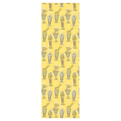 Ice Cream Pattern Deckchair