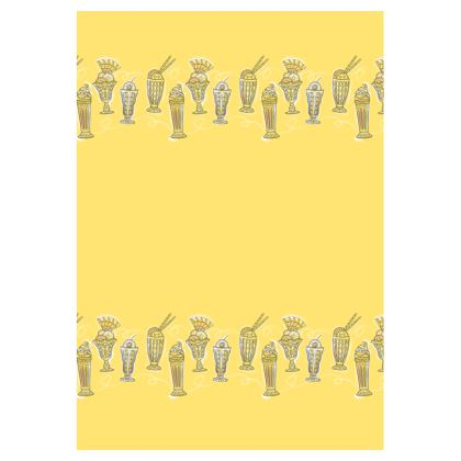 Ice Cream Border double-deckchair