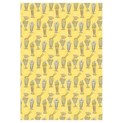Ice Cream Pattern double-deckchair