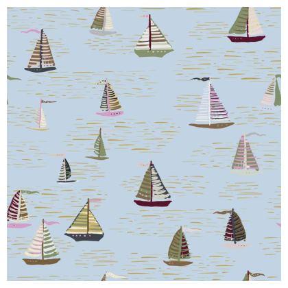 Regatta Collection (Boats - Blue Heritage) - Luxury Cushion