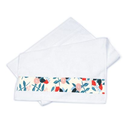 Pineapple Bloom Strip Towels
