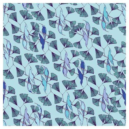 Humming Bird Collection (Blue) - Luxury Cushion