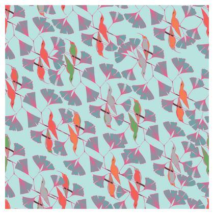Humming Bird Collection (Aqua) - Luxury Cushion