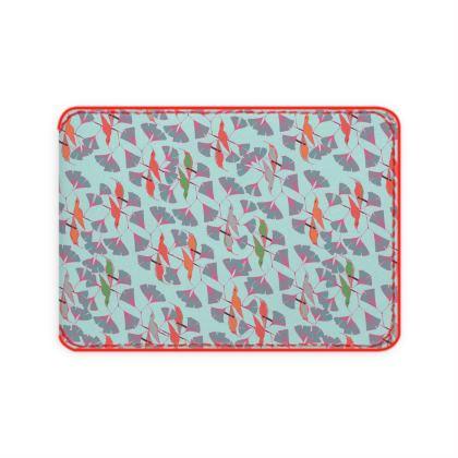 Humming Bird Collection (Aqua) - Luxury Card Holder