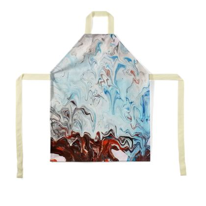 Fluid art apron,