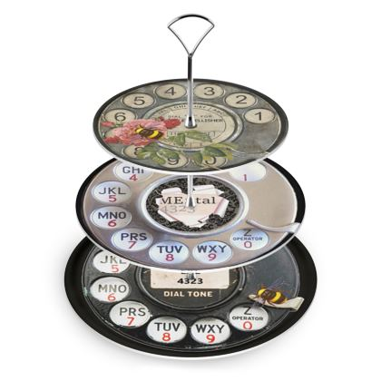 Give me a Call Cake Stand