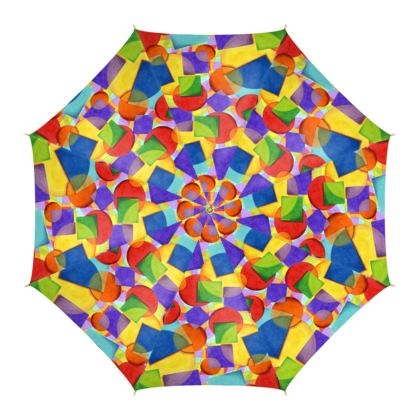 Candy Rainbow Umbrella