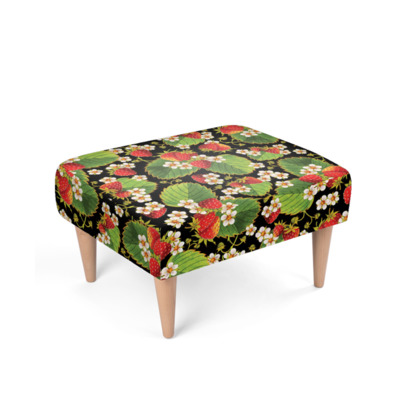 Strawberry Footstool