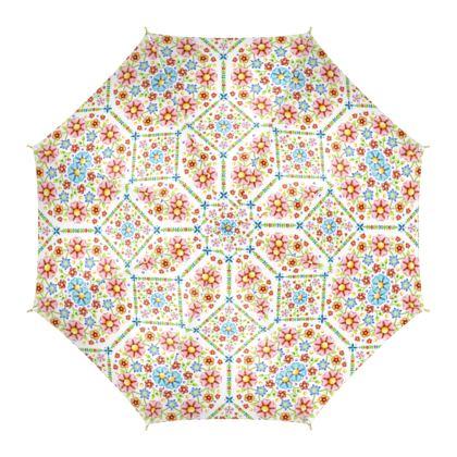 Millefiori Floral Summer Umbrella