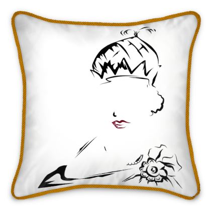 Queen Nzinga Silk Cushions