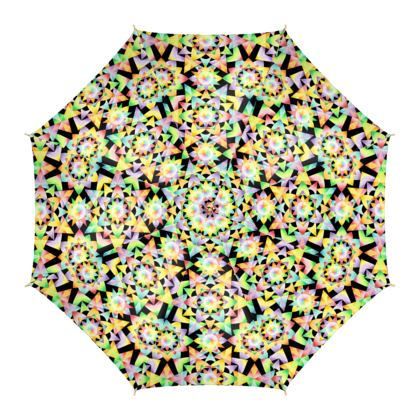 Rainbow Kaleidoscope Umbrella