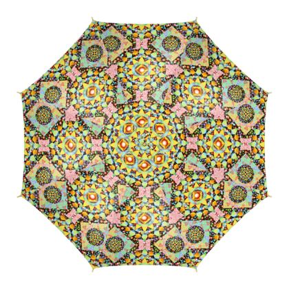 Patchwork Bonkers Umbrella
