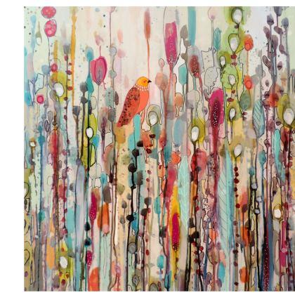 Life Colourful Bird Deckchair