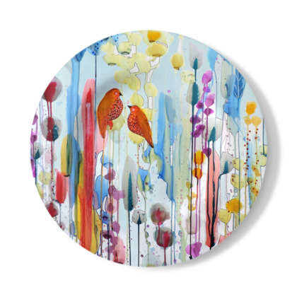 Ask Me Decorative Plate