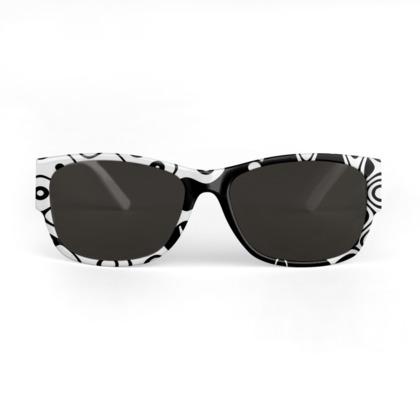 Bubblelized Waves Sunglasses