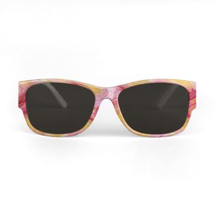 Mandarine and Pink Sunglasses