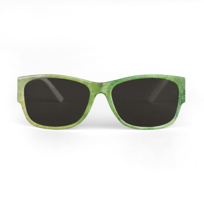 Green Galaxy Sunglasses