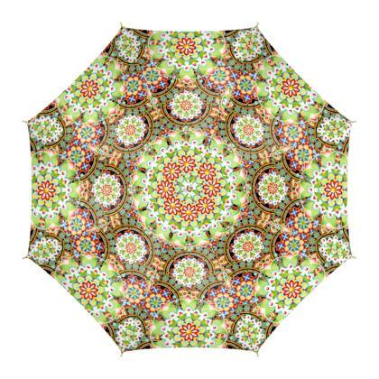 Manchester Mandala Umbrella