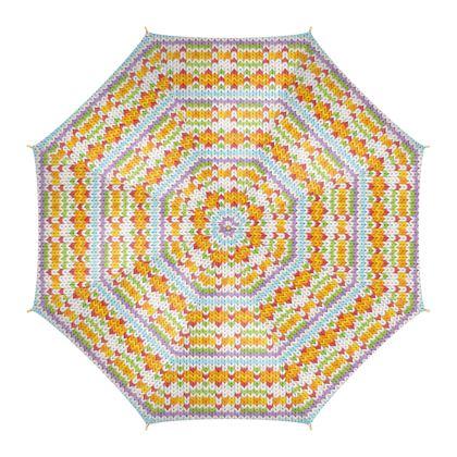 Witty Knitty Fair Isle Umbrella
