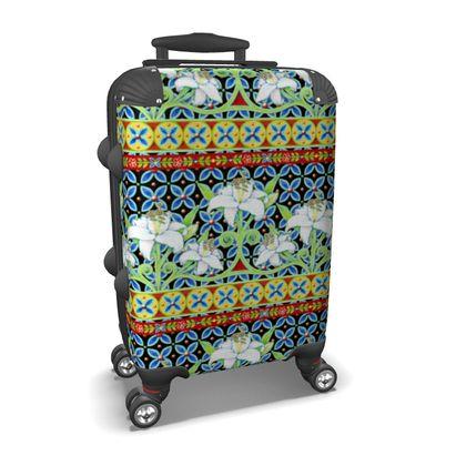 Elizabethan Folkloric Lily Suitcase